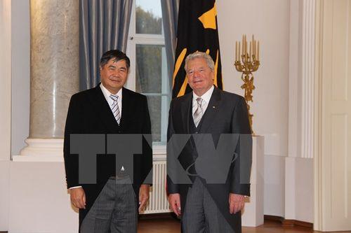 Tổng thống Đức vui mừng về quan hệ phát triển mạnh với Việt Nam - Ảnh 1
