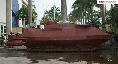 Tàu ngầm Hoàng Sa tự chế đầu tiên được thử nghiệm thành công  - Ảnh 2