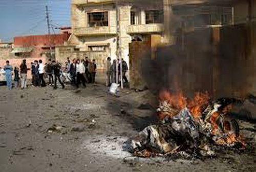 Đánh bom liều chết ở Iraq làm gần 60 người thương vong - Ảnh 1
