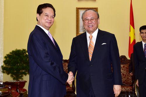 Thủ tướng tiếp Cố vấn đặc biệt Liên minh nghị sĩ hữu nghị Nhật-Việt - Ảnh 1