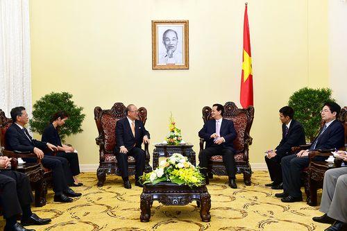 Thủ tướng tiếp Cố vấn đặc biệt Liên minh nghị sĩ hữu nghị Nhật-Việt - Ảnh 2