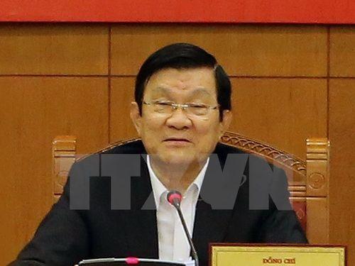 Chủ tịch nước Trương Tấn Sang dự Tuần lễ Cấp cao APEC lần thứ 23 - Ảnh 1