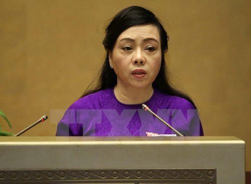 Chính phủ trình Quốc hội xem xét dự án Luật Dược sửa đổi - Ảnh 1