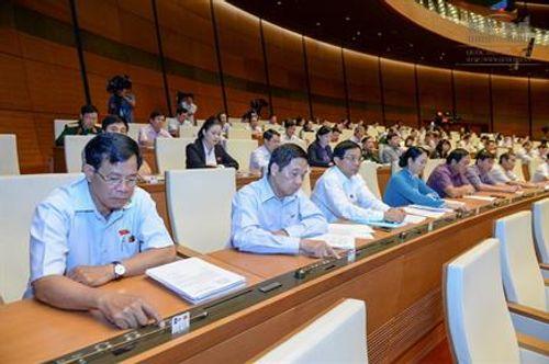 Quốc hội biểu quyết thông qua 2 luật - Ảnh 1
