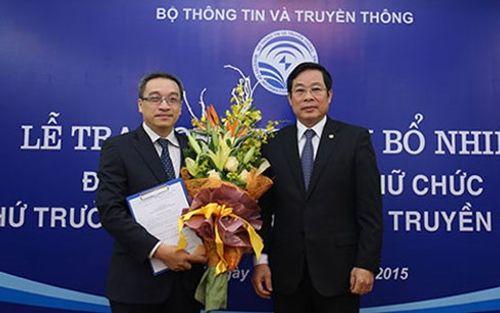 Thủ tướng Chính phủ bổ nhiệm Thứ trưởng Bộ Thông tin và Truyền thông - Ảnh 1