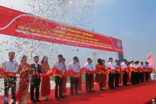 Khánh thành cụm công trình Lạch Giang với tổng vốn đầu tư 1.600 tỷ đồng - Ảnh 1