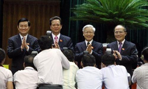 Lãnh đạo Nhà nước có 3 phút để tuyên thệ khi nhậm chức - Ảnh 1