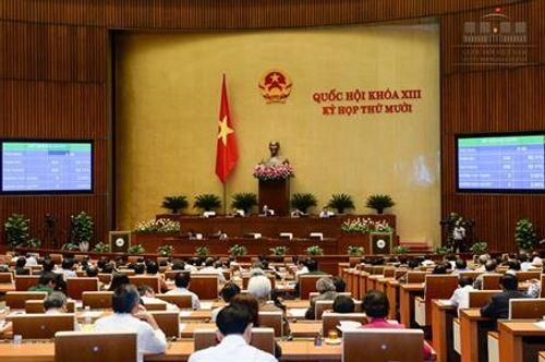 Bầu Tổng Thư ký Quốc hội, phê chuẩn nhân sự Hội đồng Bầu cử quốc gia - Ảnh 1