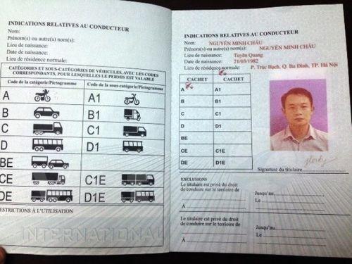 Ngày 3/11 chính thức cấp giấy phép lái xe quốc tế - Ảnh 1
