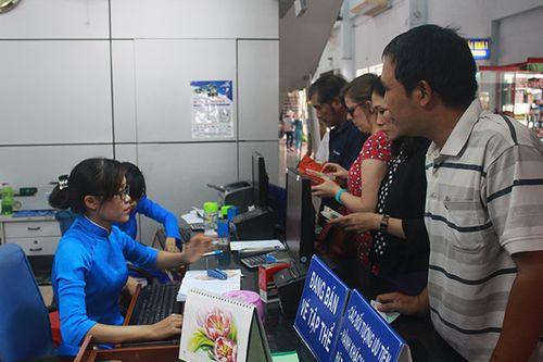 Hôm nay, TP HCM bắt đầu bán vé tàu Tết chặng ngắn  - Ảnh 1