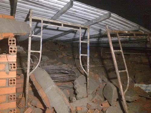Vụ sập nhà ở Bình Chánh: Nạn nhân kể lại giây phút kinh hoàng  - Ảnh 3