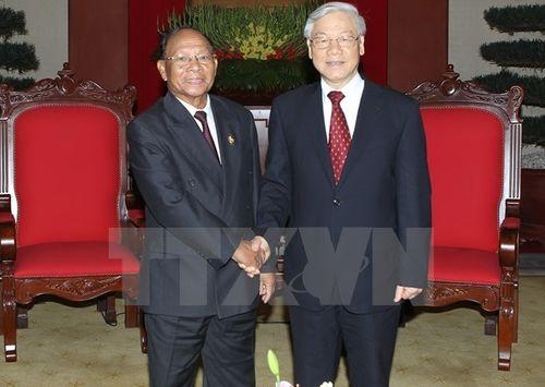Lãnh đạo Đảng, Nhà nước gửi Điện mừng Quốc khánh Campuchia - Ảnh 1