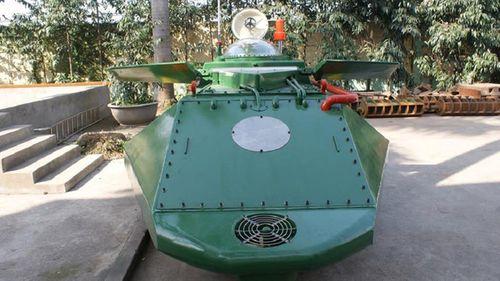 Tàu ngầm mini Hoàng Sa chạy thử thành công trên biển - Ảnh 1