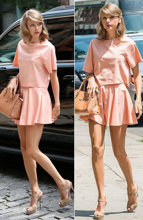 Mix đồ mùa hè xinh tươi như cô nàng Taylor Swift - Ảnh 1