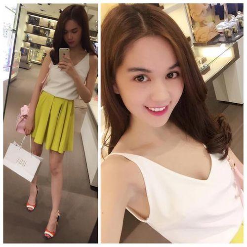 Hà Tăng, Ngọc Trinh, Minh Hằng khoe vóc dáng xinh tươi với váy ngắn - Ảnh 3