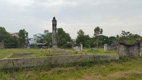"""Thừa Thiên - Huế: Nhiều di tích đứng trước nguy cơ bị """"xóa sổ""""  - Ảnh 4"""