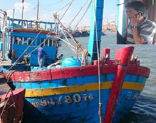 Khẩn cấp tìm cứu tàu cá cùng 9 ngư dân gặp nạn trên biển  - Ảnh 1