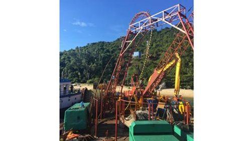 Hoàn thành cáp ngầm xuyên biển đưa điện lưới ra Cù Lao Chàm - Ảnh 1