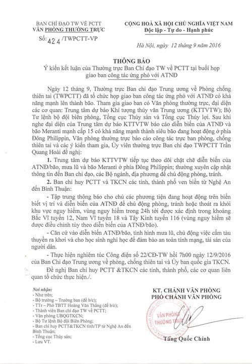 Các tỉnh miền Trung khẩn trương ứng phó áp thấp nhiệt đới - Ảnh 1