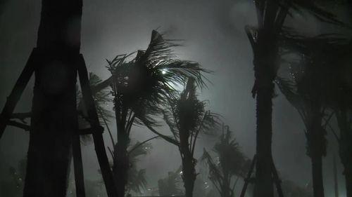 Cảnh tượng tan hoang sau khi bão số 4 đi vào đất liền - Ảnh 11