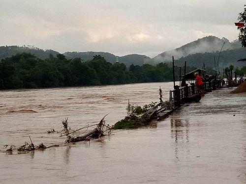 Nhiều cây cầu ở Miền Trung bị trôi sập sau mưa lũ - Ảnh 7