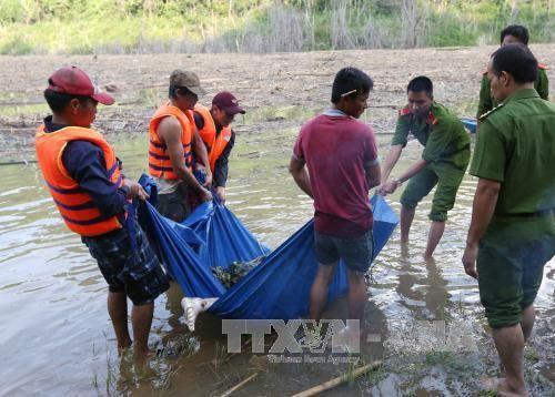Tìm thấy một thi thể vụ vỡ đường ống dẫn nước thủy điện Sông Bung 2 - Ảnh 1
