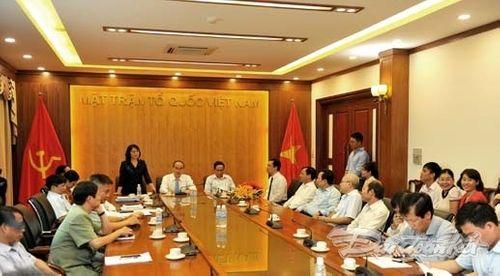 Ông Vũ Văn Tiến nhận quyết định bổ nhiệm TBT Tạp chí Mặt trận - Ảnh 2