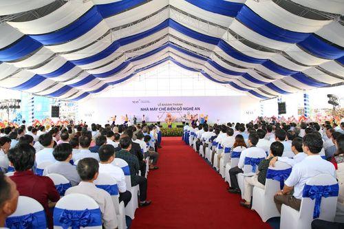 Khánh thành nhà máy chế biến gỗ lớn nhất Việt Nam - Ảnh 1