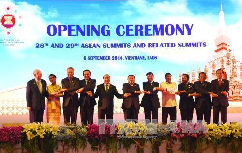 Thủ tướng dự lễ khai mạc Hội nghị Cấp cao ASEAN lần thứ 28-29 - Ảnh 1