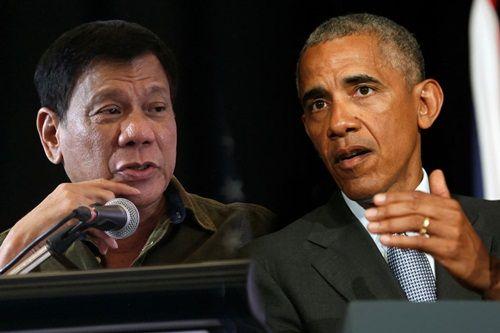 Tổng thống Philippines hối hận vì thóa mạ Obama - Ảnh 1