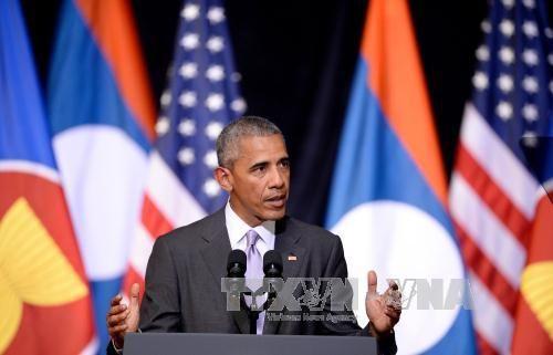 Tổng thống Mỹ tái khẳng định cam kết can dự với châu Á - Ảnh 1