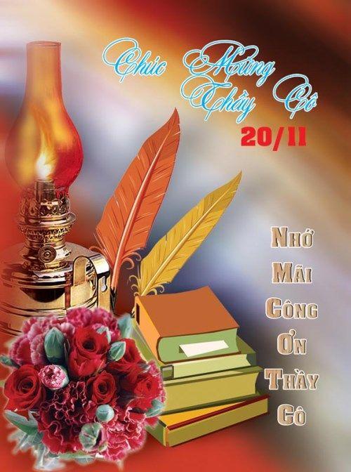 Hình ảnh đẹp 20/11 chúc mừng ngày nhà giáo Việt Nam  - Ảnh 11