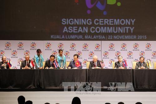 Bước ngoặt lịch sử trong quá trình phát triển của ASEAN - Ảnh 1