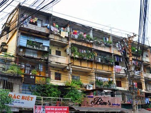 Chính phủ ban hành Nghị định về cải tạo, xây dựng lại nhà chung cư - Ảnh 1