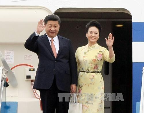 Tổng Bí thư, Chủ tịch Trung Quốc Tập Cận Bình bắt đầu thăm Việt Nam - Ảnh 1