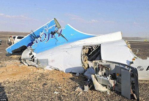 Nga, Ai Cập bác giả thuyết máy bay A321 bị IS đánh bom - Ảnh 1