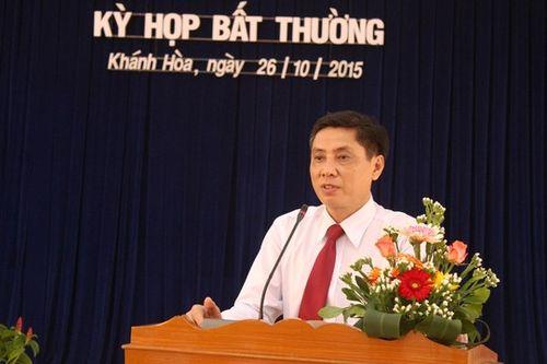 Thủ tướng phê chuẩn Chủ tịch UBND tỉnh Khánh Hòa - Ảnh 1