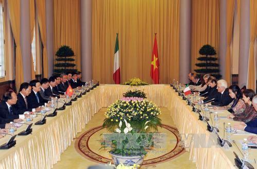 Việt Nam và Italy nhất trí tăng cường quan hệ hợp tác - Ảnh 2