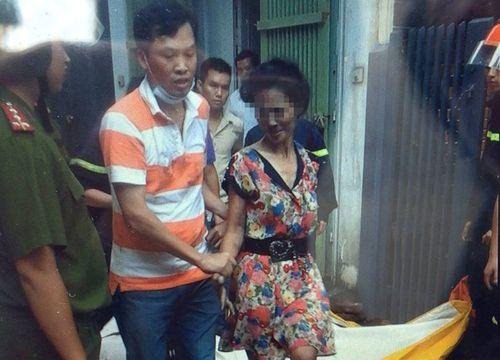 Người phụ nữ đòi 'chết một mình' trong ngôi nhà bốc cháy - Ảnh 2