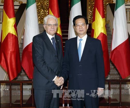 Tổng thống Italy kết thúc tốt đẹp chuyến thăm Việt Nam - Ảnh 1