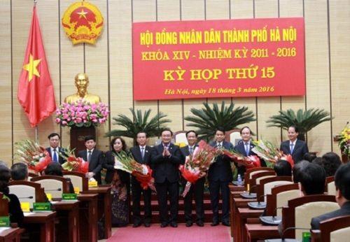 TP Hà Nội có 3 Phó Chủ tịch mới - Ảnh 1
