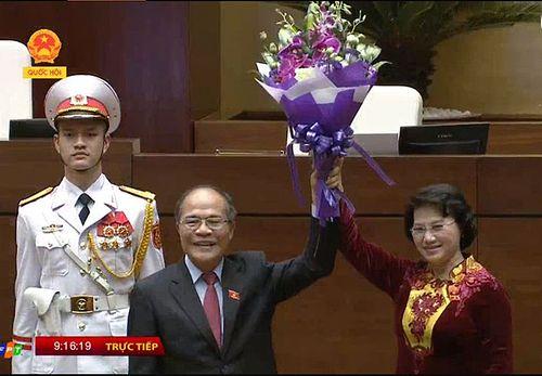 Chủ tịch Quốc hội Nguyễn Thị Kim Ngân tuyên thệ nhậm chức - Ảnh 2