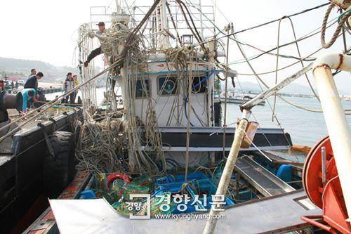 Hàn Quốc phát hiện một thi thể thuyền viên Việt Nam mất tích - Ảnh 1