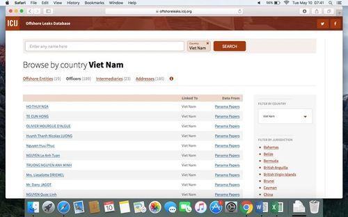 """Ngành thuế sẽ kiểm tra thông tin người Việt trong """"Hồ sơ Panama"""" - Ảnh 1"""