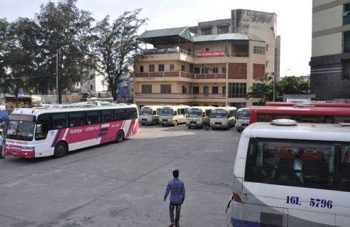 Chùm ảnh: Bến xe Lương Yên trước ngày di dời - Ảnh 2