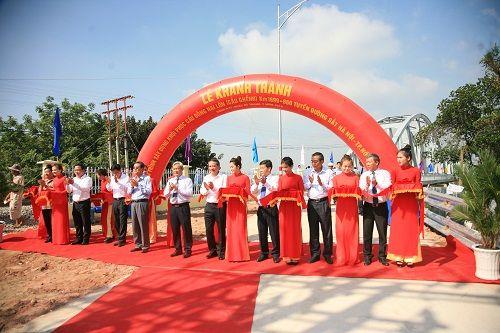 Khánh thành cầu Ghềnh mới bắc qua sông Đồng Nai - Ảnh 1