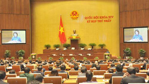 Toàn cảnh phiên khai mạc kỳ họp thứ nhất Quốc hội khóa XIV - Ảnh 3