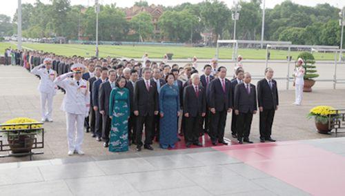 Toàn cảnh phiên khai mạc kỳ họp thứ nhất Quốc hội khóa XIV - Ảnh 4