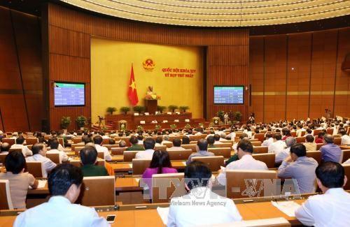 Quốc hội bỏ phiếu kín bầu Chủ tịch, Phó Chủ tịch - Ảnh 1