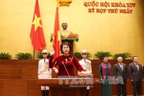 Bà Nguyễn Thị Kim Ngân tái đắc cử Chủ tịch Quốc hội khoá XIV - Ảnh 1